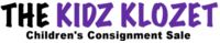 The Kidz Klozet Sticky Logo